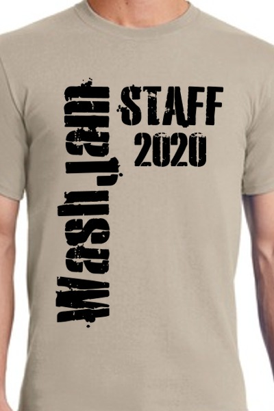 WashJam 2020 Staff T-Shirt